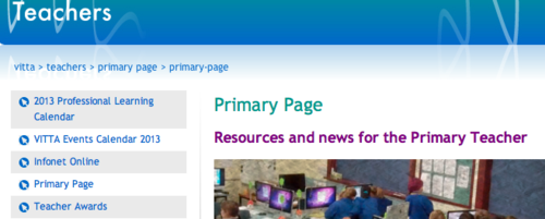 VITTA Primary Resource Page